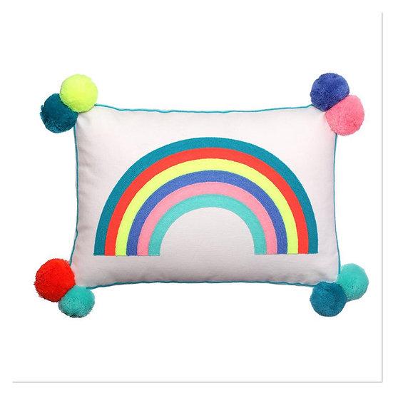 Bombay duck Rainbow Rectangle Cushion