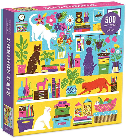 Curious Cats Jigsaw