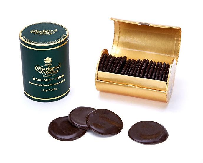 Charbonnel & Walker Dark Mint Thins