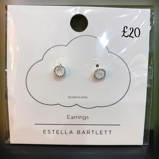 Estella Bartlett Diamanté Earrings