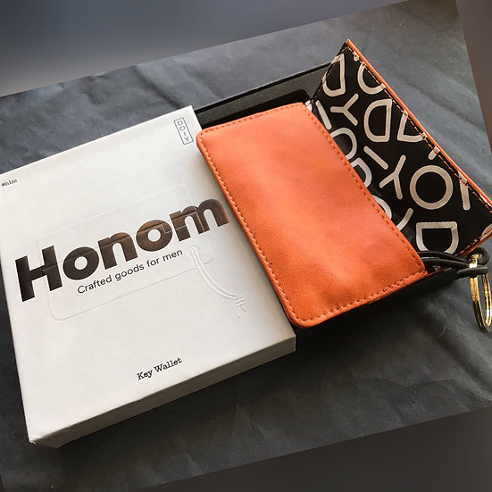 Honom Vegan Leather Key Wallet