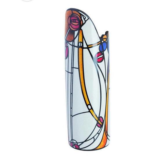 Rose Silhouette d'art - Mackintosh Vase