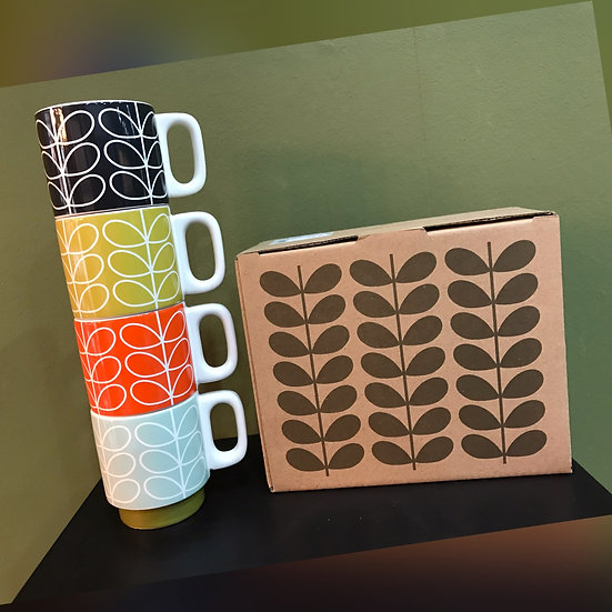 Stacking Espresso Mugs