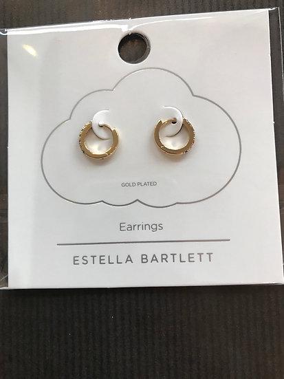Estella Bartlett Rainbow Hoop Earrings