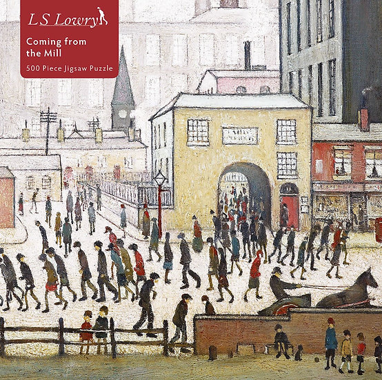 Lowry Coming From The Mill Zigsaw