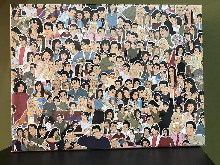 500 piece 'Friends' Jigsaw Puzzle