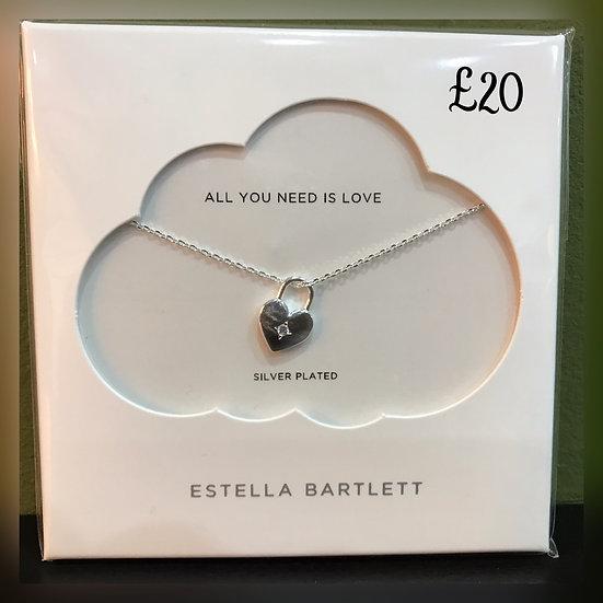 Estella Bartlett Heart Necklace