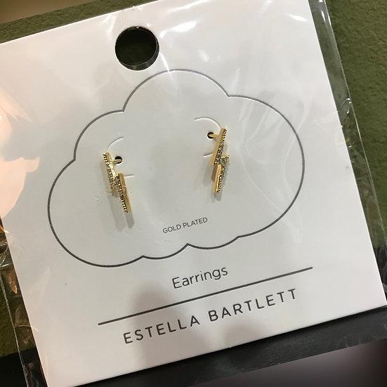 Estella Bartlett Lightning Flash Earrings