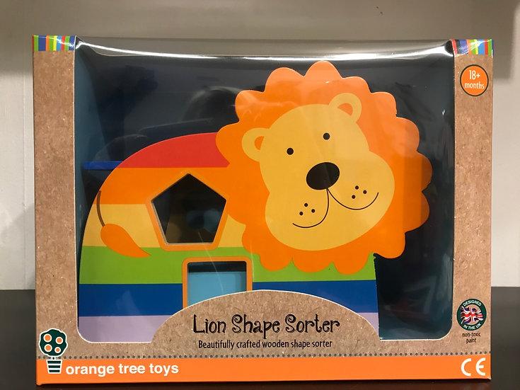 Lion shape Sorter