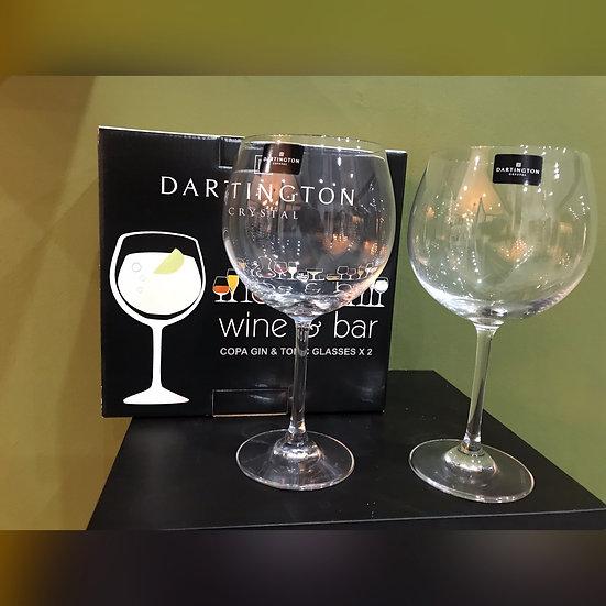 Dartington Gin glasses