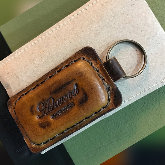 Ashwood Leather Key Fob