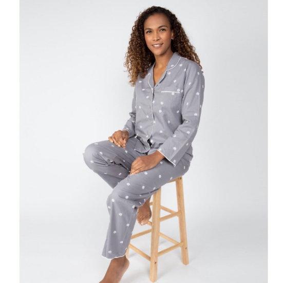 Cyberjammies - Juliette Embroidered Pyjama Set
