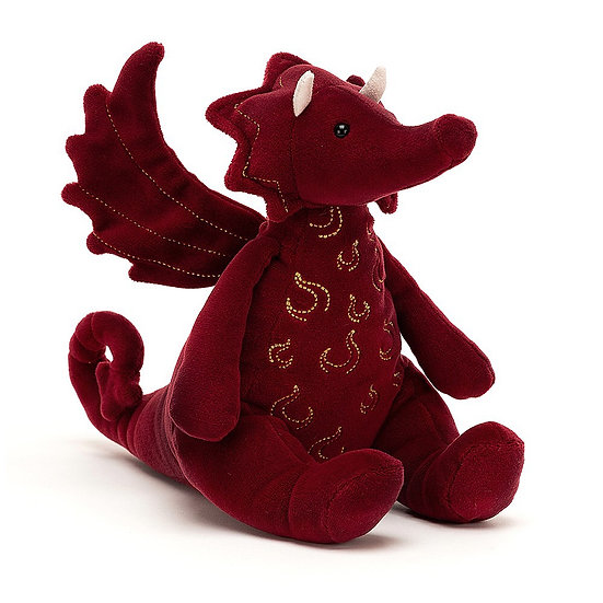 Jellycat - Ruby Dragon.