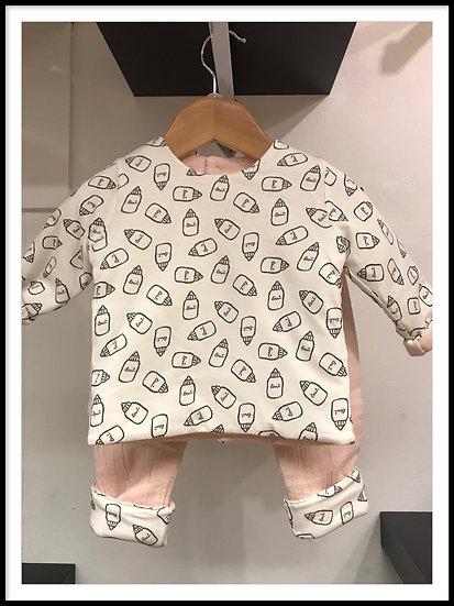 Reversible 2 Piece Suit