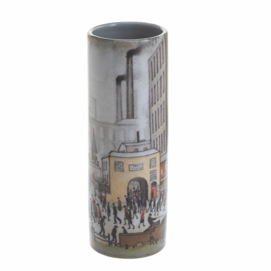 Lowry Vase- Coming from the Mill (medium)