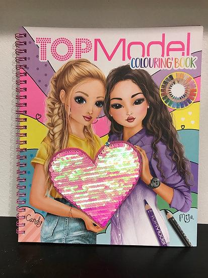 Top Model - Colouring Book