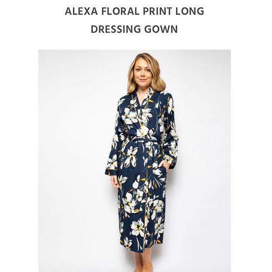 Cyberjammies - Alexa Floral Print Long Robe