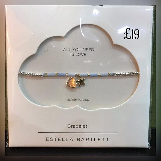 Estella Bartlett 'All You Need is Love' Bracelet