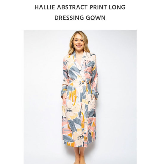 Cyberjammies - Hallie Abstract Robe