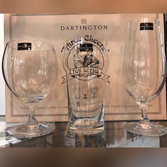 Dartington Beer Glass Trio