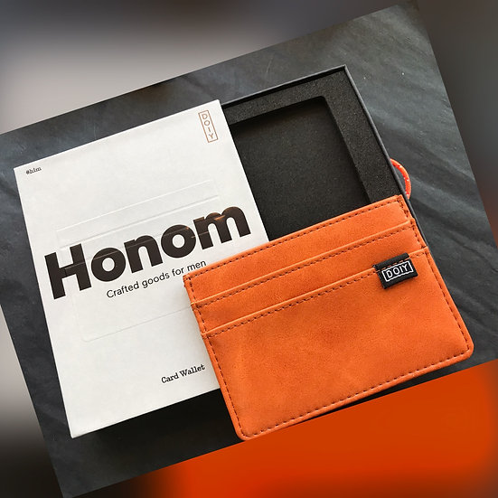 Honom Vegan Leather Card Wallet