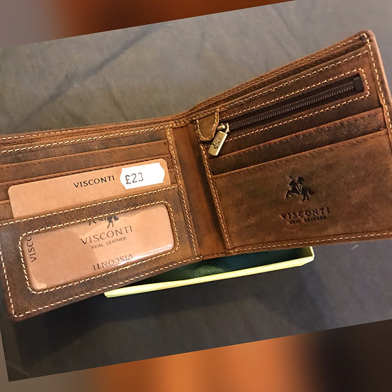 ART#707 Visconti Leather Wallet