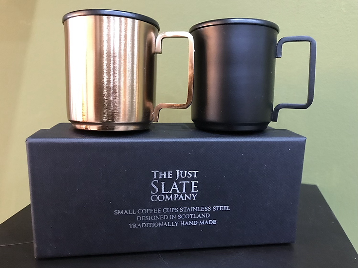Stainless Steel / Copper Coffee Cups