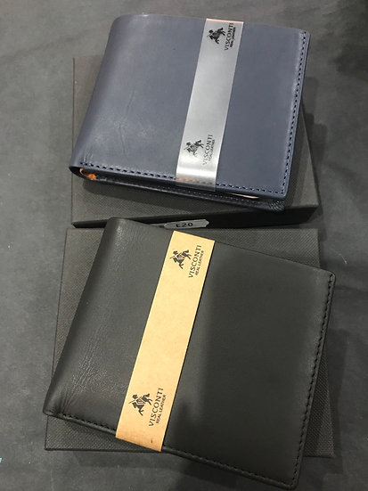 Bi-Fold Leather Wallet (PM-101 Pablo)