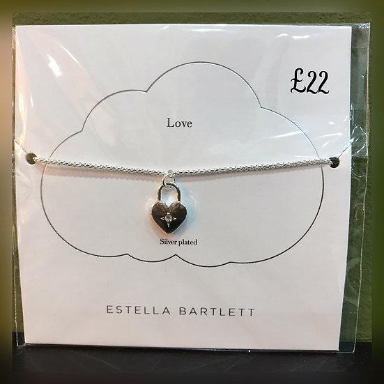 Estella Bartlett Love Bracelet