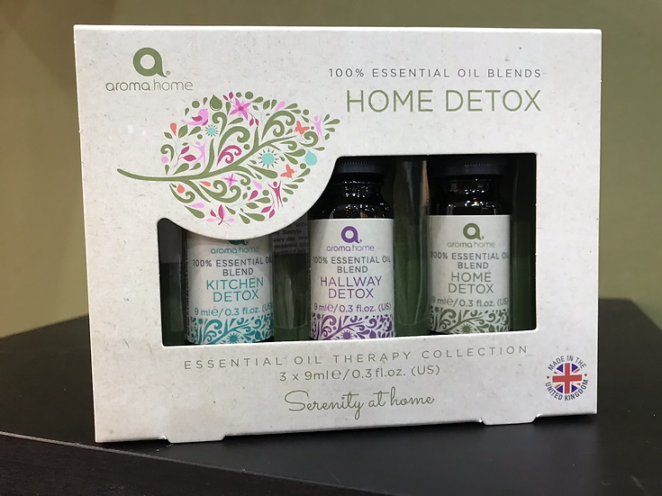 Home Detox Essential Oils Trio