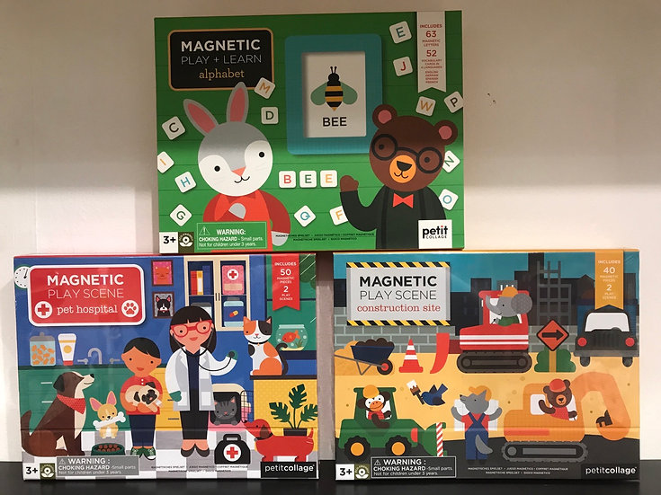 Magnetic Play Scenes