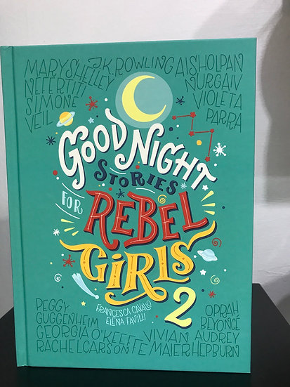 Book-Good Night Stories for Rebel Girls 2