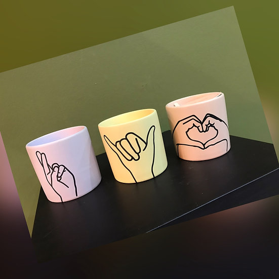 Fingers Cossed, Hang Loose , Love Ya, Paddywax Candles