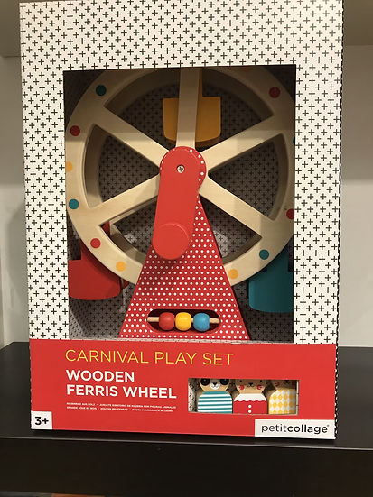 Wooden Ferris Wheel Playset