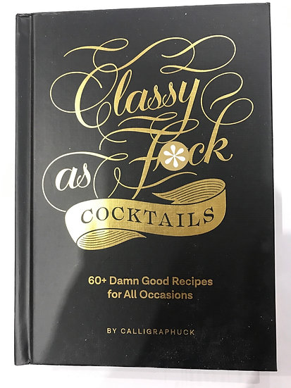 Classy Cocktail Book