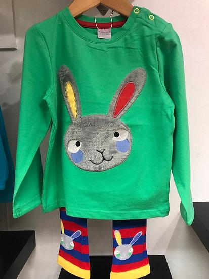 Garden Bunny 2 piece Set
