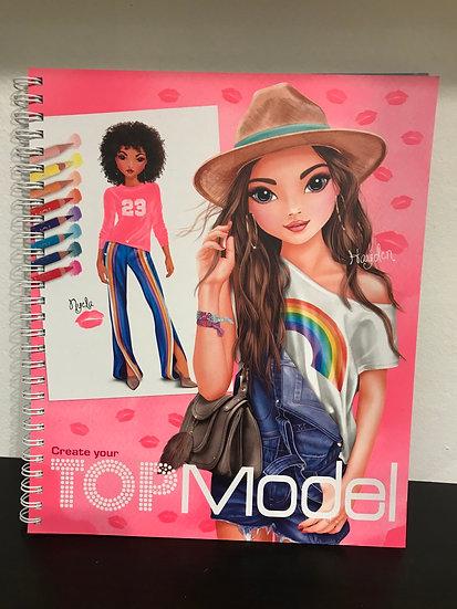 Top Model - Colouring /Create Book