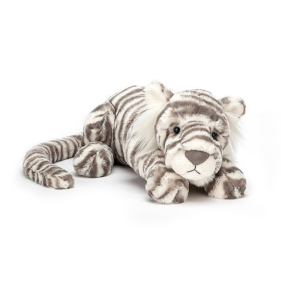 Jellycat - Sacha Snow Tiger