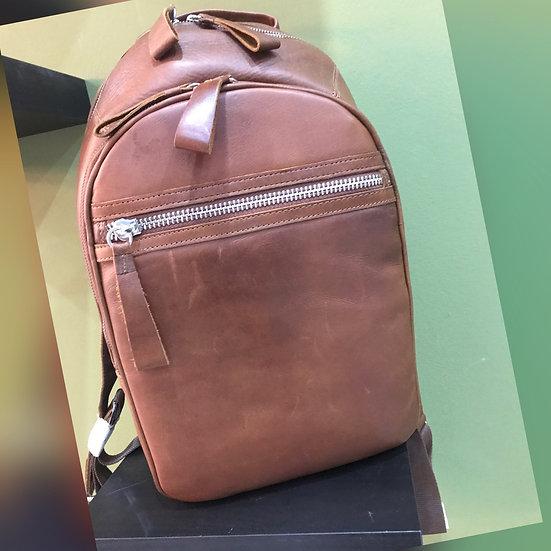 Chestnut Leather rucksack