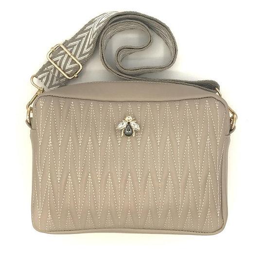 Sixton - Medium Vegan Leather Crossbody Bag