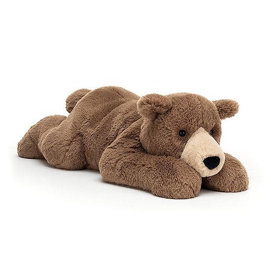 Jellycat - Woody Bear Lying.