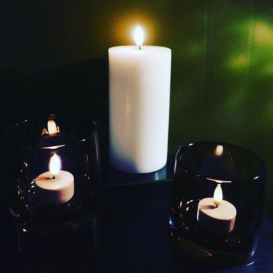 "Uyuni LED Tapered Candle h10"" x w0.95"""