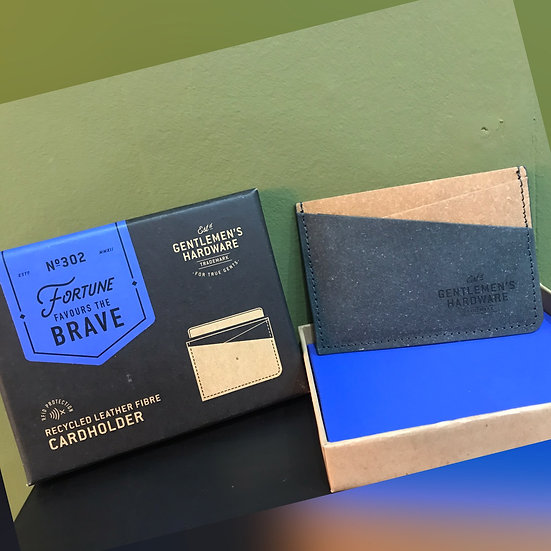Recycled Leather Fibre Cardholder