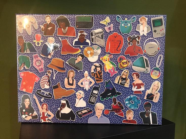90's Icons Jigsaw