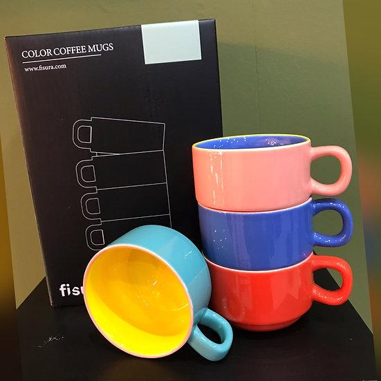 Colour Coffee Mugs