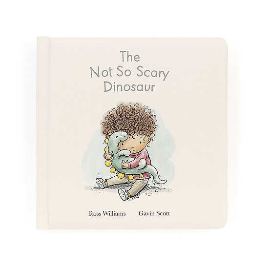 Book - The Not So Scary Dinosaur