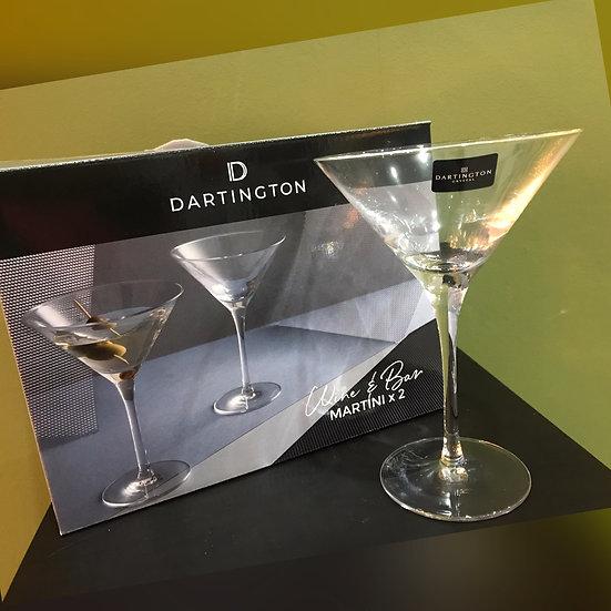 Dartington Crystal Martini Glasses