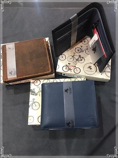Slim Leather Wallet