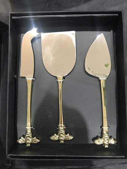 Bee Handle Cheese Knives