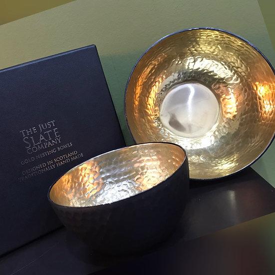 Gold Nesting Bowls